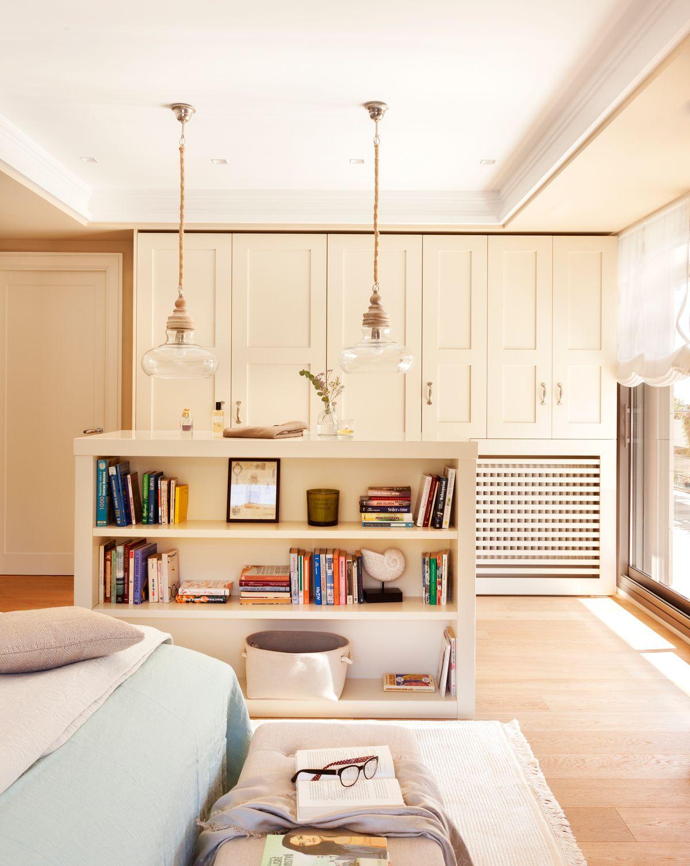 Dormitorio principal con armario al fondo y estanter a - Armarios pequenos dormitorio ...