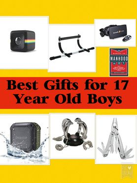 Best Gifts for 17 Year Old Boys | Gift Ideas | Pinterest | Boys ...