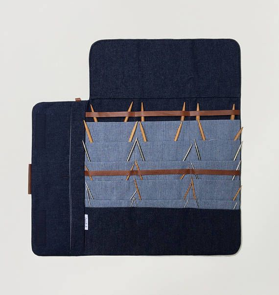 Circular Knitting needle Case Fixed circular needle | Porta Agujas y ...
