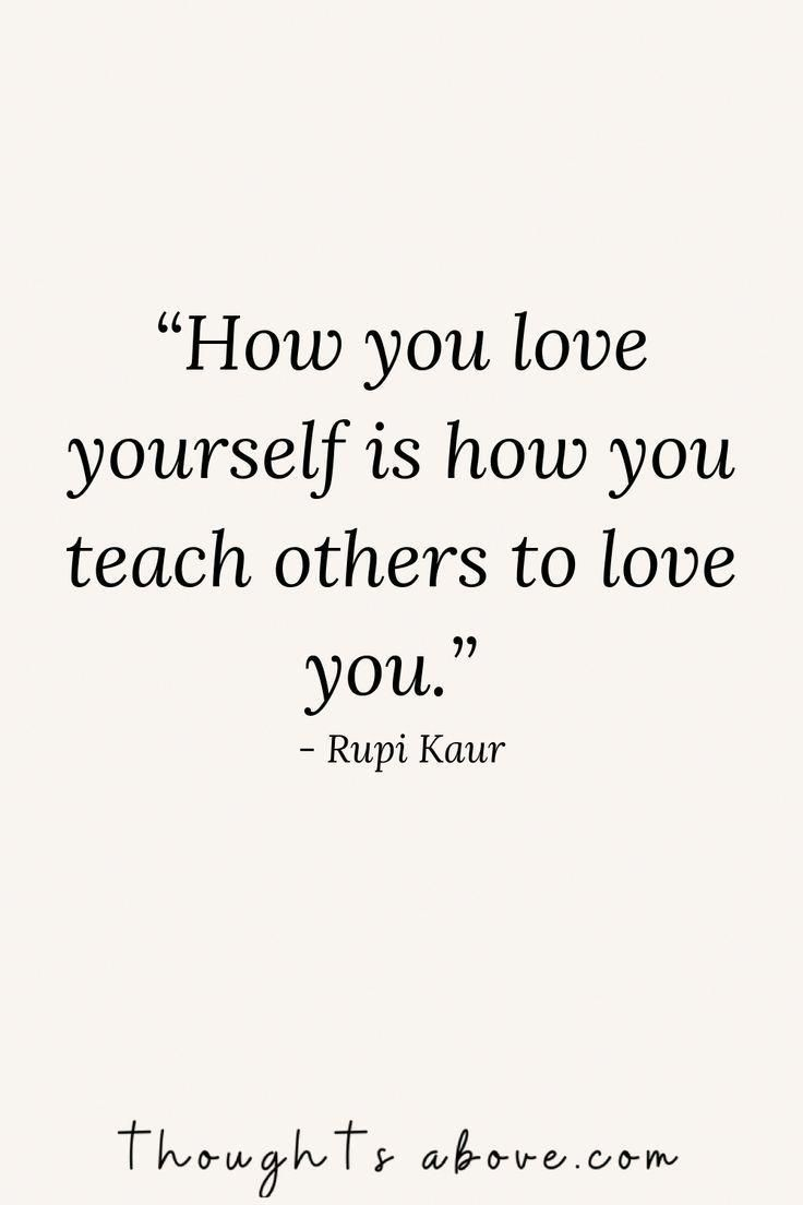How to love yourself?  #rupikaur #quotes #poems #selflove #tips