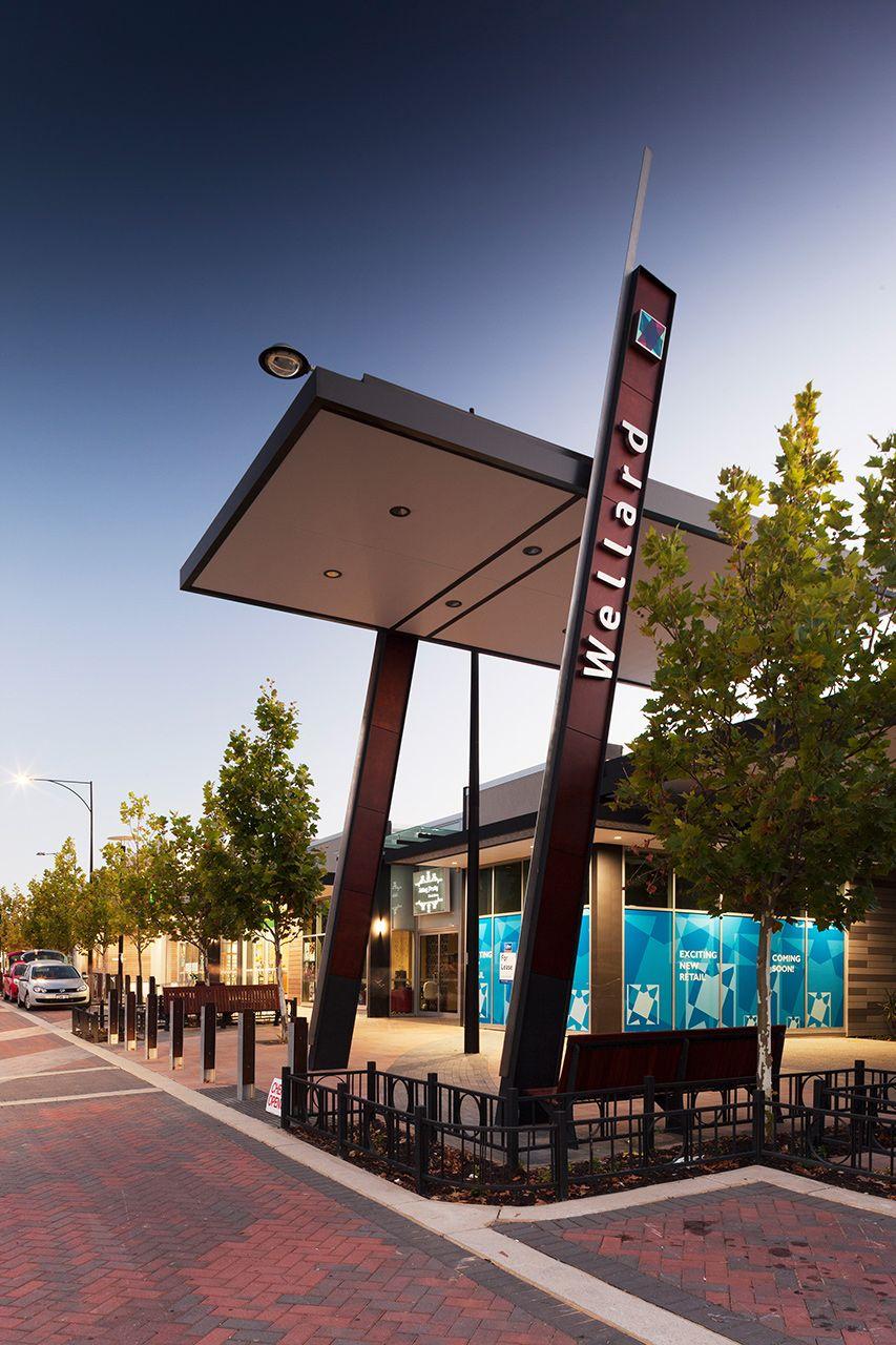 Wellard Square Shopping street, Restaurant concept, Exterior