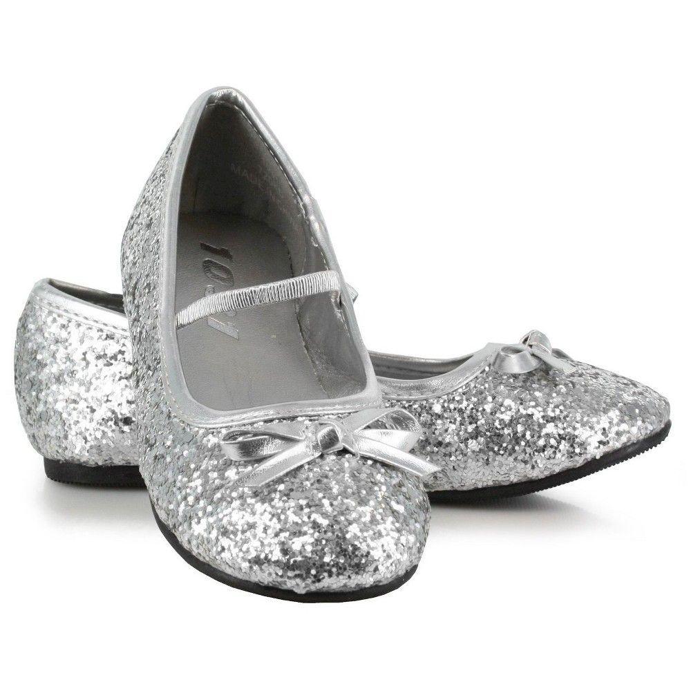 c2213a1712980 Halloween Girls  Sparkle Ballerina Silver S(11 12)