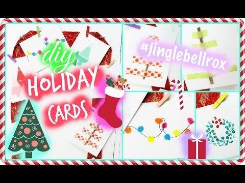 diy holiday cards the classy it girl diy diyholidaycards