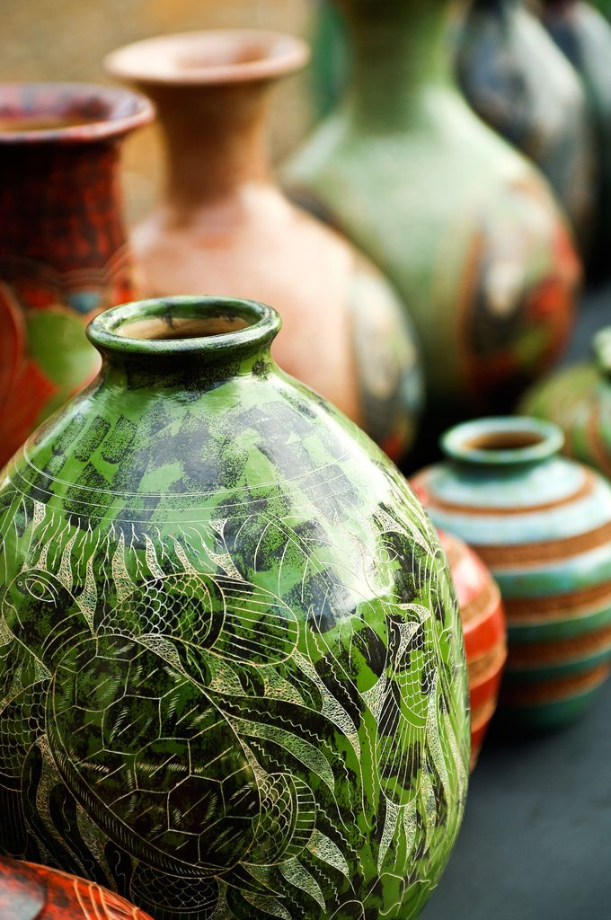 handcrafted pottery ... Costa Rica