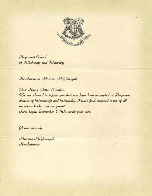 picture relating to Hogwarts Letter Printable identify Printable Hogwarts Popularity Letter Ideal Company