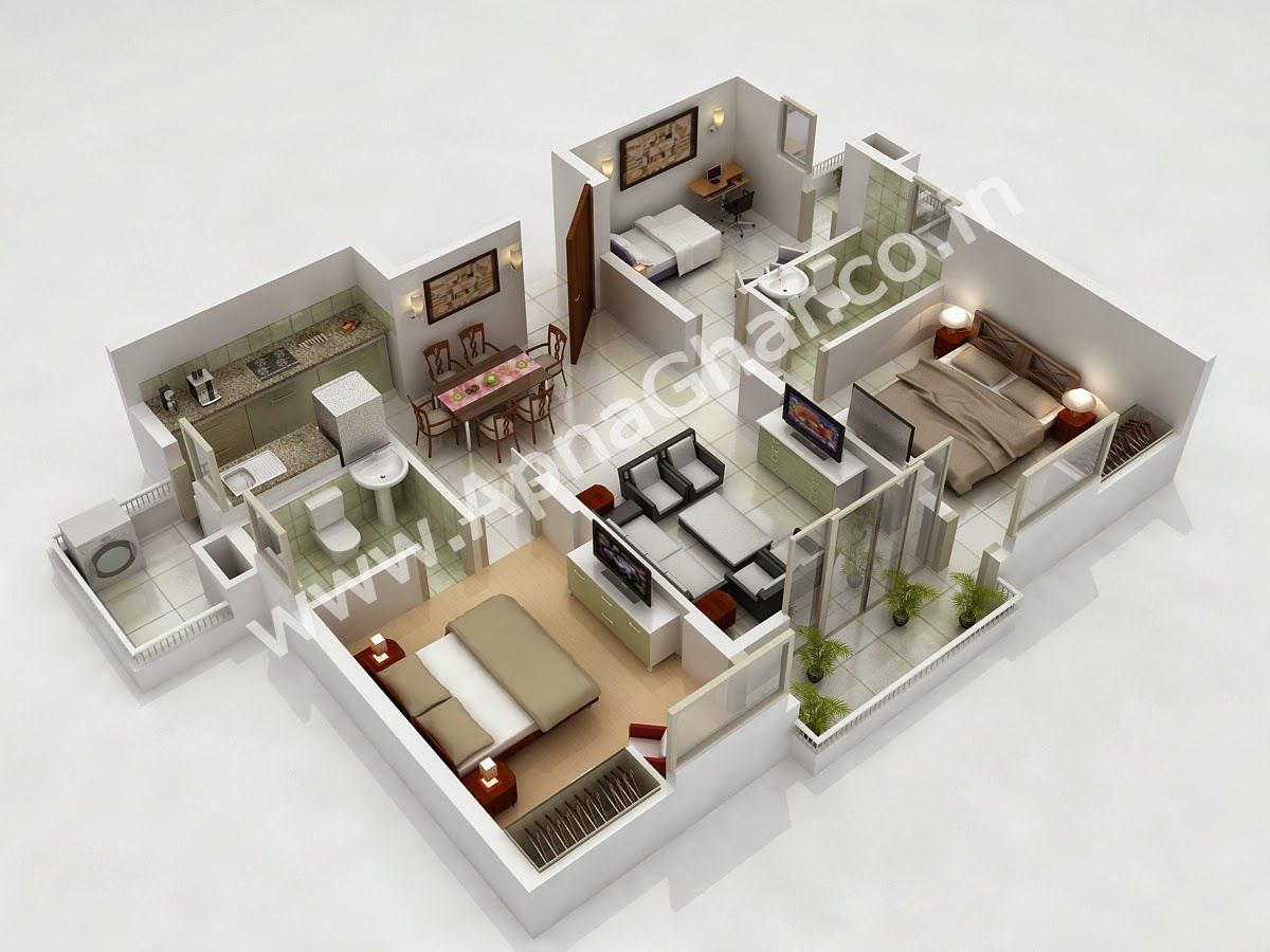 17 Best images about case in 3d on Pinterest   Bedroom floor plans  House  plans and Bedroom apartment. 17 Best images about case in 3d on Pinterest   Bedroom floor plans