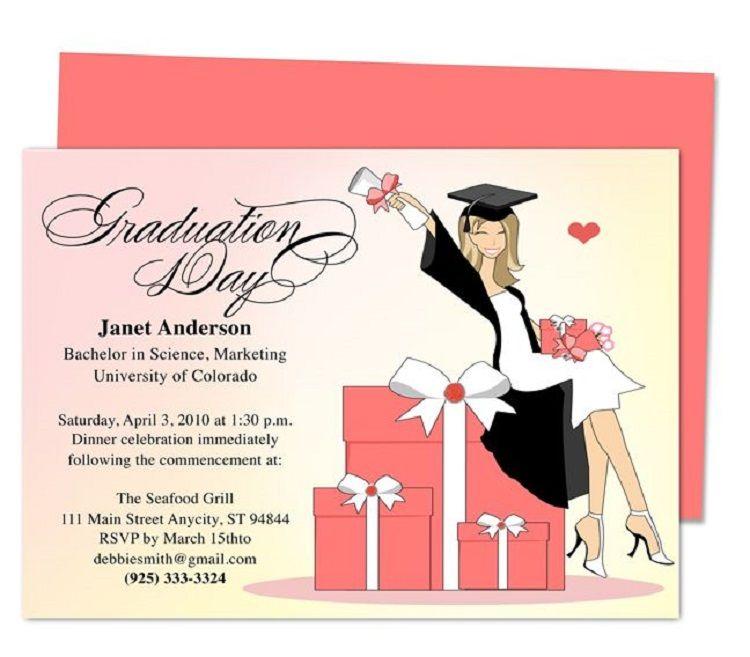 Nurse Graduation Invitations Printable