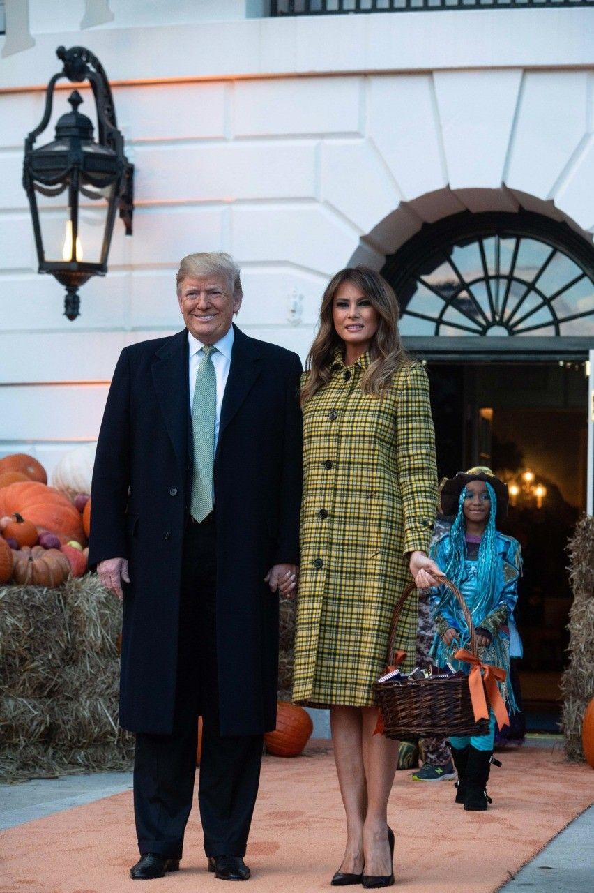 674976419c36f Fashion Notes: Melania Trump Channels Jackie Kennedy for Halloween ...