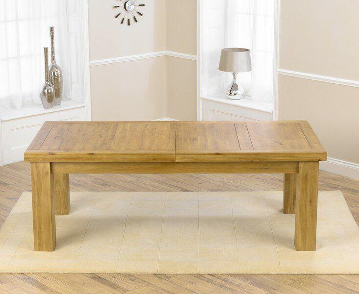 Essgruppe Chama mit ausziehbarem Tisch und 4 Stühlen