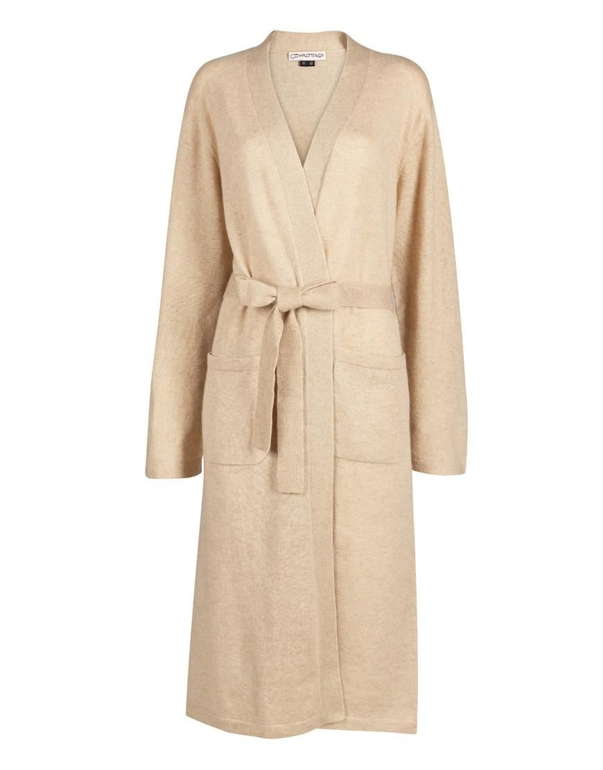 Cashmere Dressing Gown - Wheat | My Sense of Style | Pinterest ...