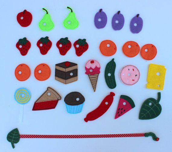 Very hungry caterpillar lacing game spiel von kleine - Raupe basteln kindergarten ...