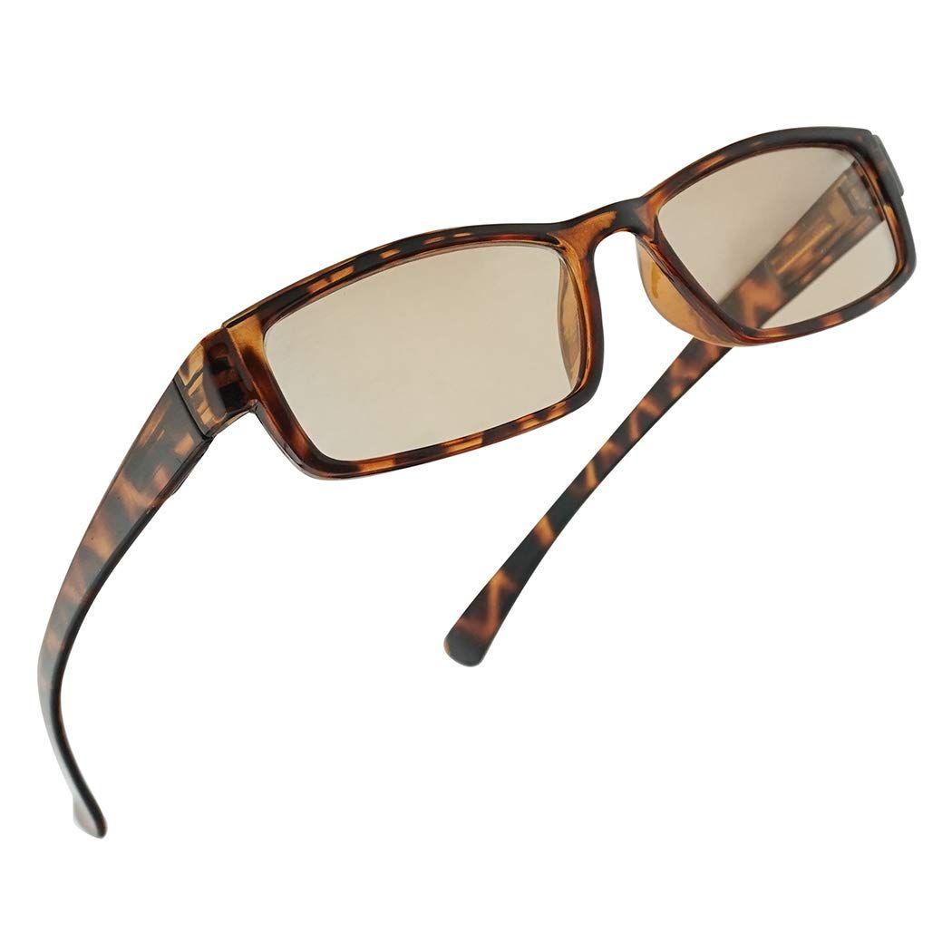 Antiglare blue light blocking reading glasses eyestrain