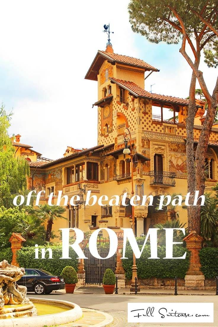 20 Hidden Gems of Rome That Most Tourists Never See + Map & Tips ...