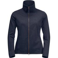 Photo of Jack Wolfskin women's fleece jacket Riverland Jacket W, size L in midnight blue, size L in midnight bl