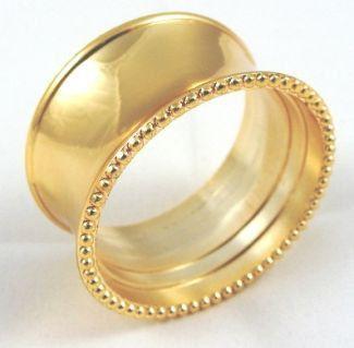Goldring Design Servietten Ring Set  von SuperCoolCreations auf Etsy