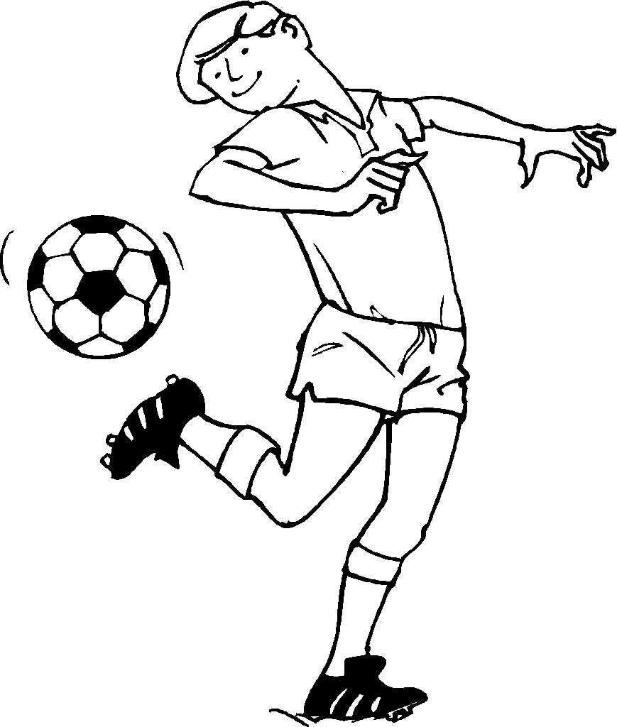 Pin Di Example Sports Coloring