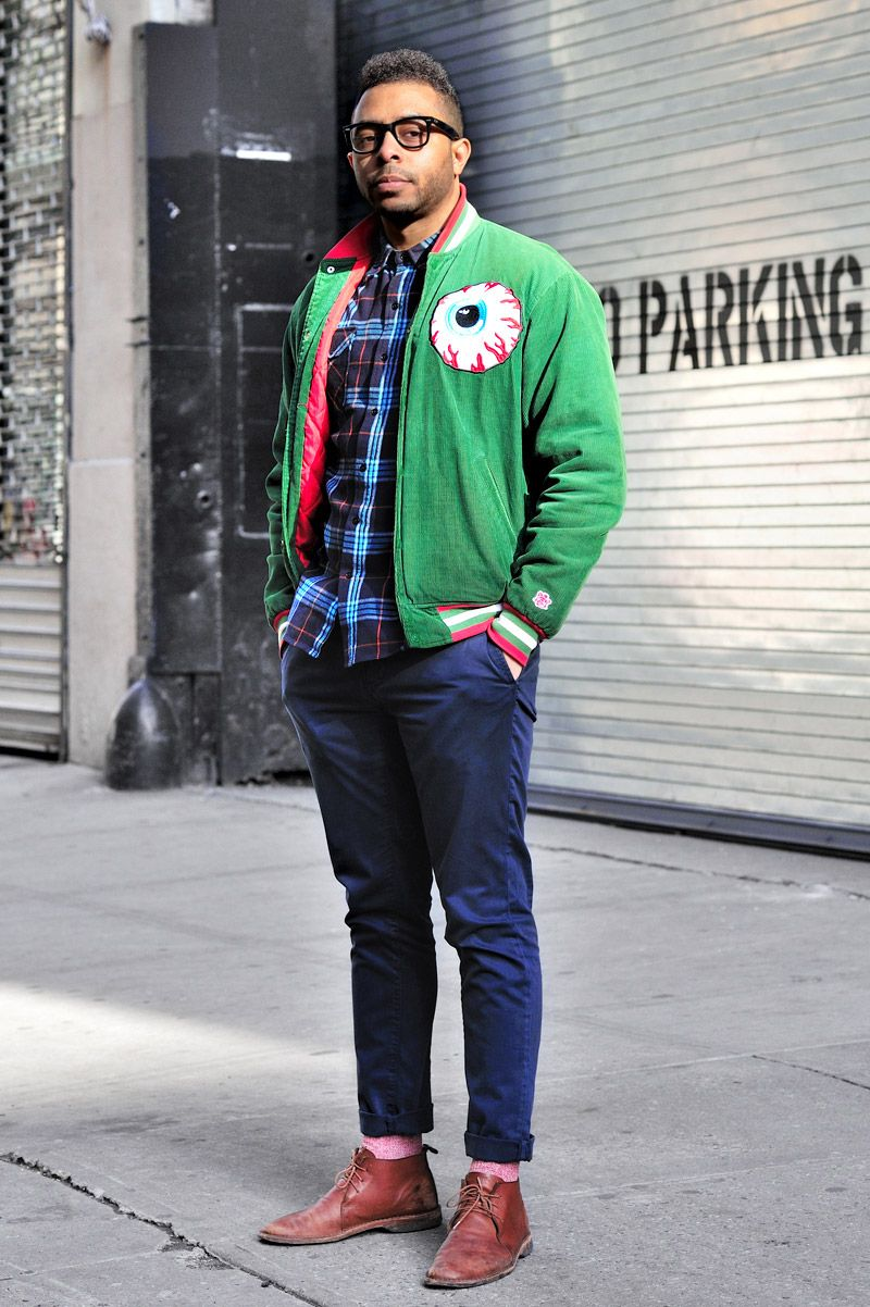 New York City By Monsieur Jerome. Raheem U2013 (30 U2013 Student) Wears Jacket By Mishka Shirt By Urban ...