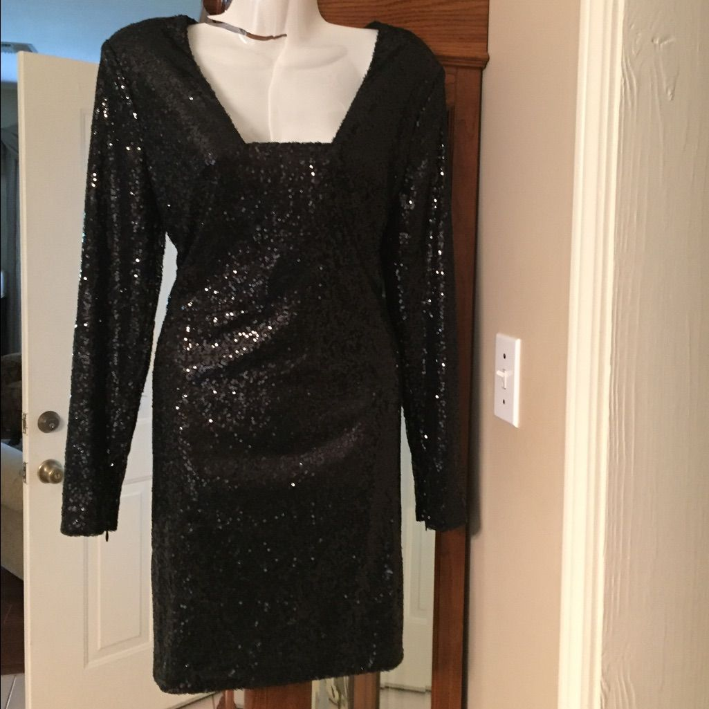 Cute black sequin dress black sequin dress black sequins and products