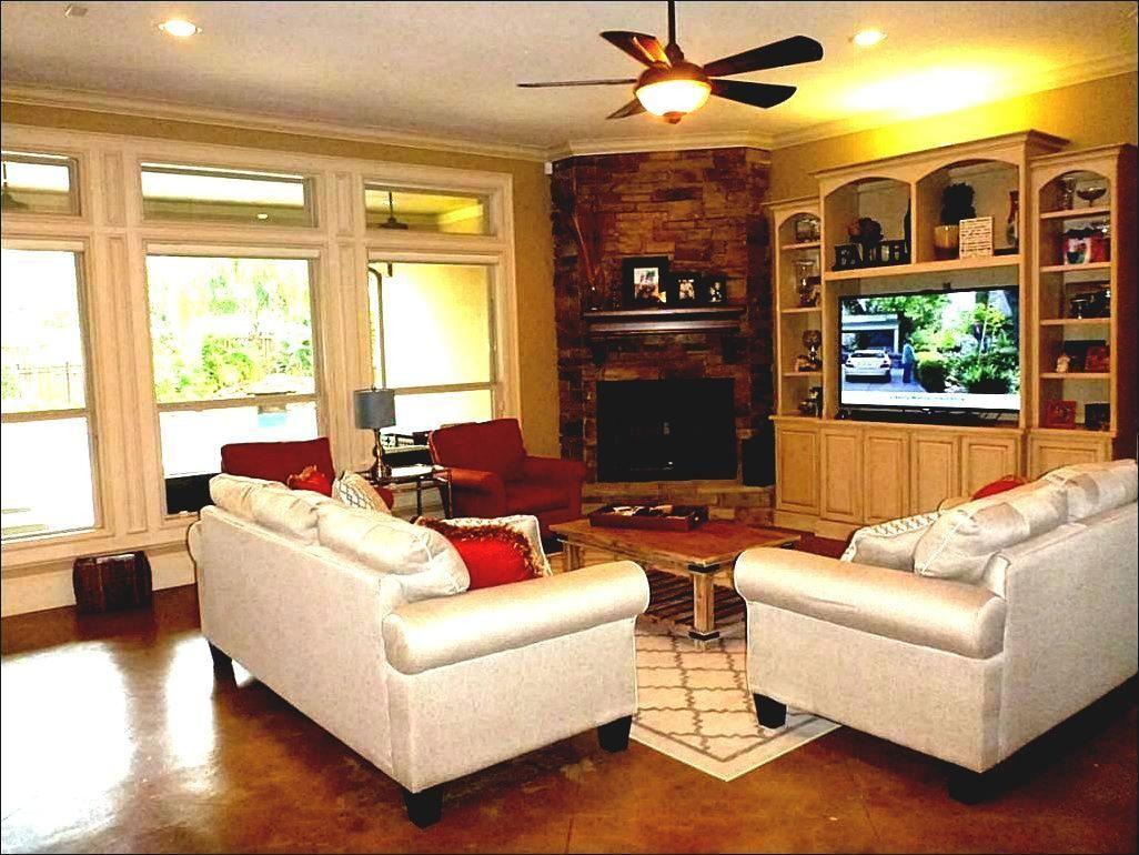 Fireplace Furniture Arrangement Corner Fireplace Living