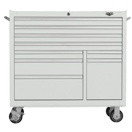 Amazon.com: Viper Tool Storage V4109WHR 41-Inch 9-Drawer 18G Steel Rolling Tool Cabinet, White: Home Improvement