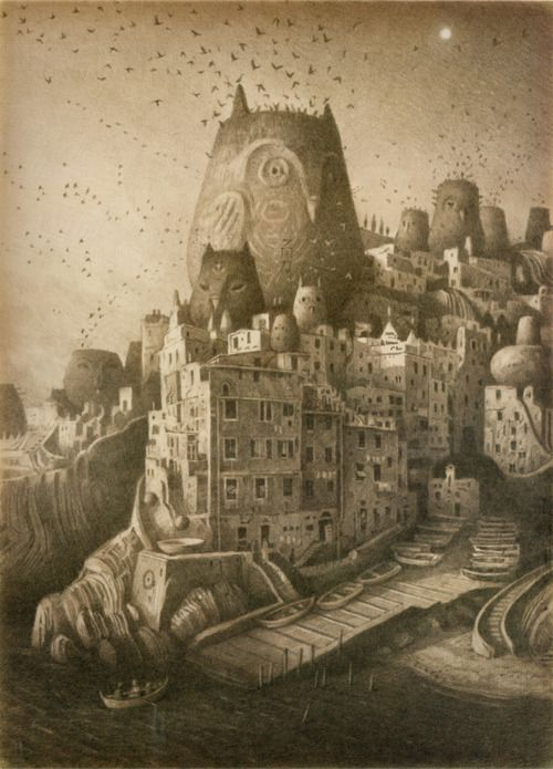 The wonderfull work of one of my favorite illustrators, Shaun Tan