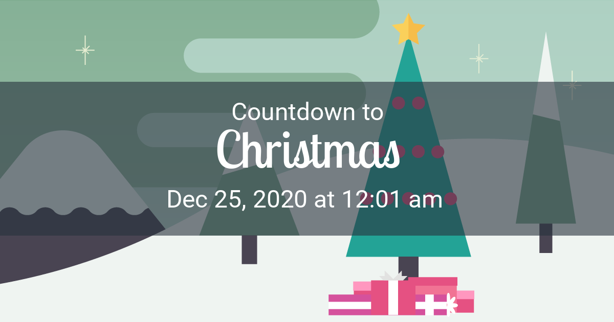 Christmas Countdown - Countdown to Dec 25, 2020 12:01 am in Grand Rapids