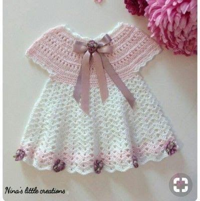 orgu-bebek-elbise-modelleri #uncinettoperbambina