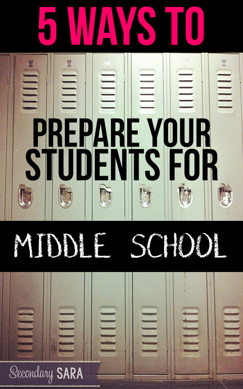 """Ever wonder what the middle school teachers receiving your graduates really want? Not sure how best to help your 4th, 5th, and 6th graders transition from primary to secondary grades? I'll let you in on a secret: we middle school teachers are equally concerned about helping kids learn how to """"be students"""" as we are with the content knowledge that they have when they arrive. Click to find out more."""