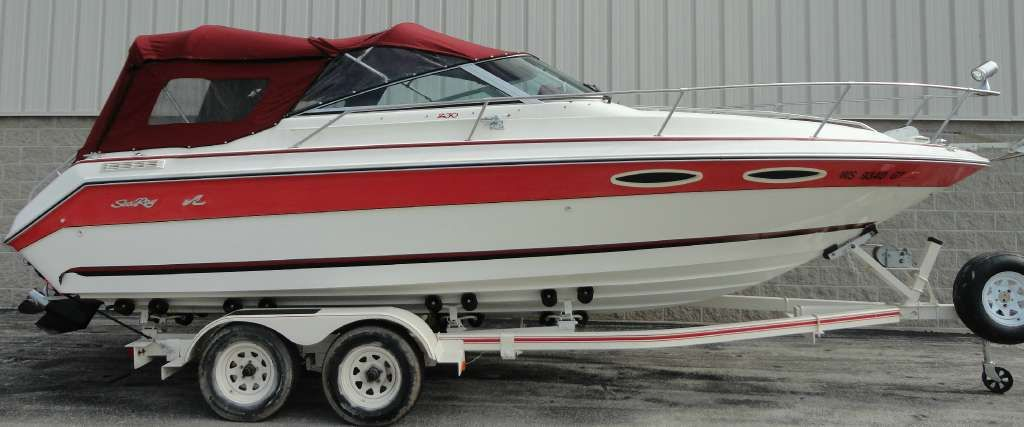Sea Ray 1990 230 Cuddy Sea ray boat, Boat, Outboard