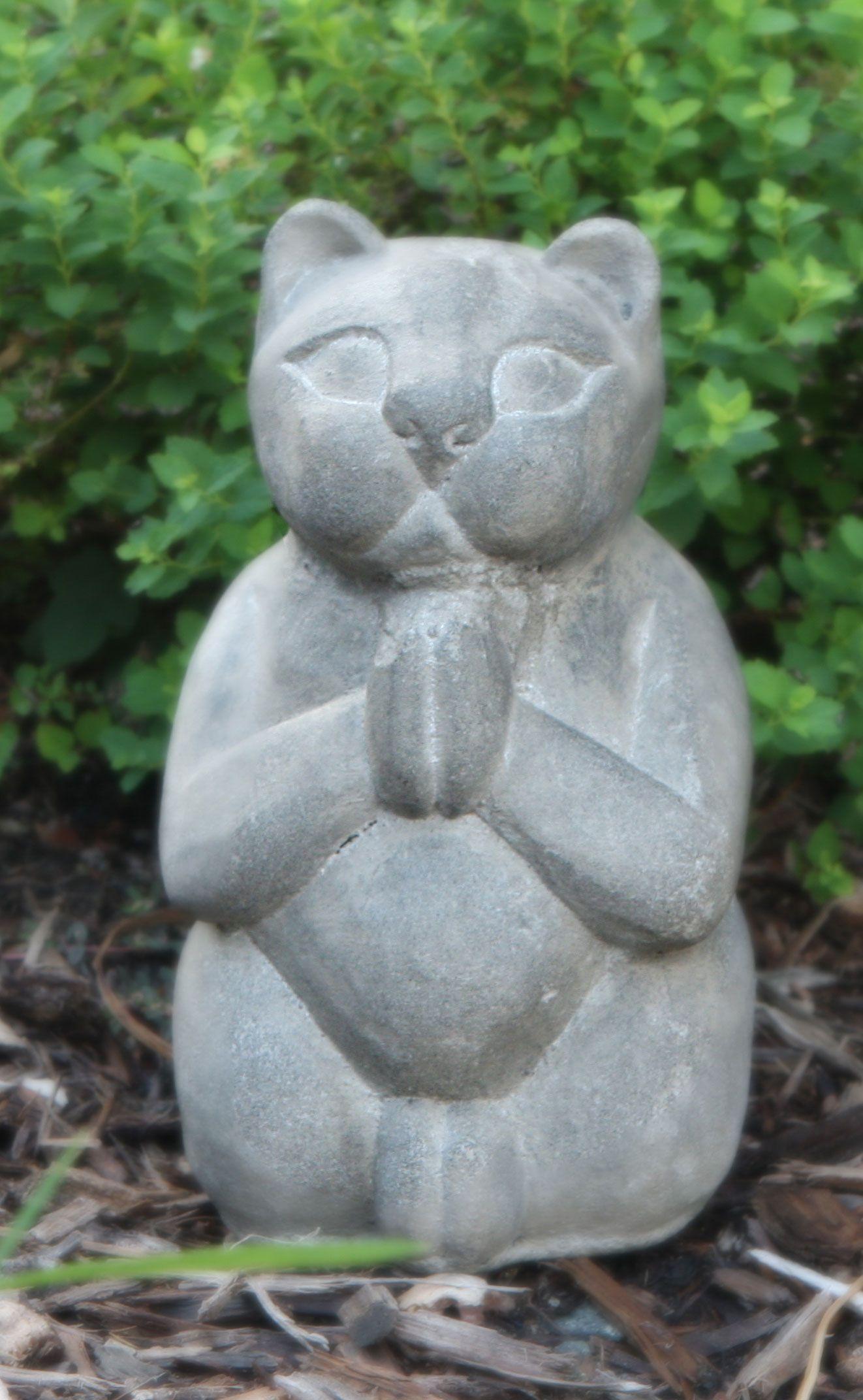 Etonnant Zen Cat Garden Statue