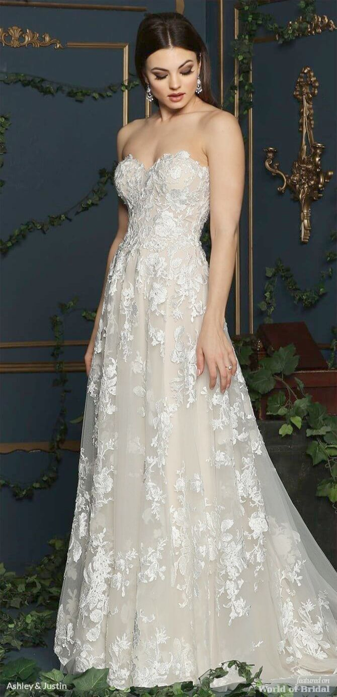 Pin by the ideal wedding blog on unique lace wedding dresses