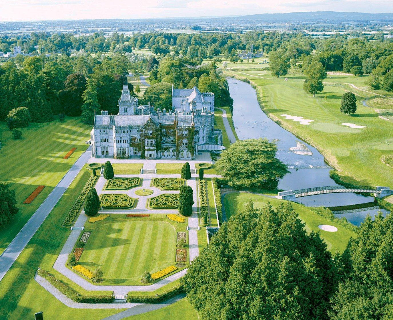 Adare Manor Hotel And Golf Resort Is A Great Location For Castle Wedding In County