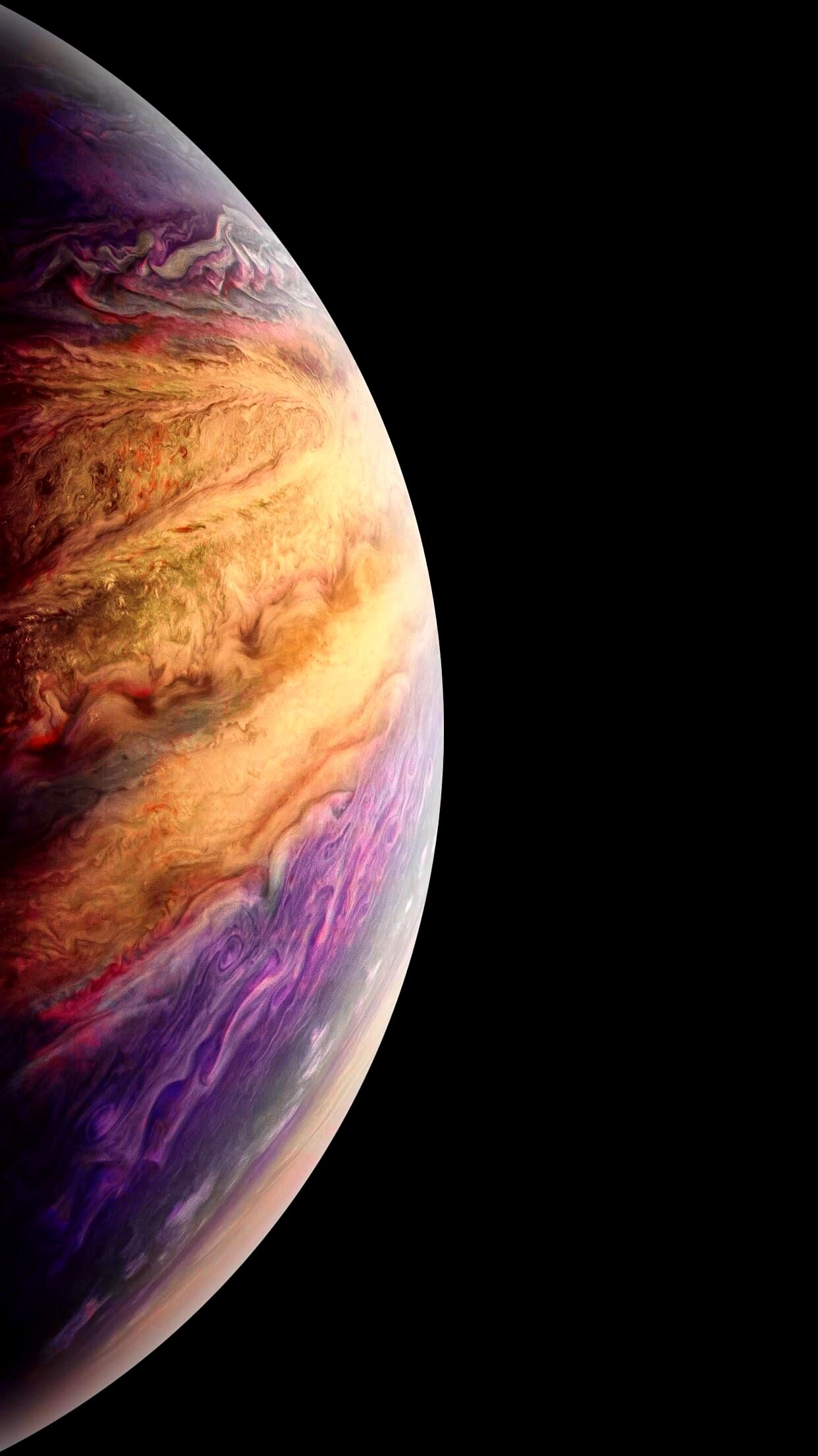 Jupiter Wallpaper 4K Iphone Trick วอลเปเปอร์, วอลเปเปอร์