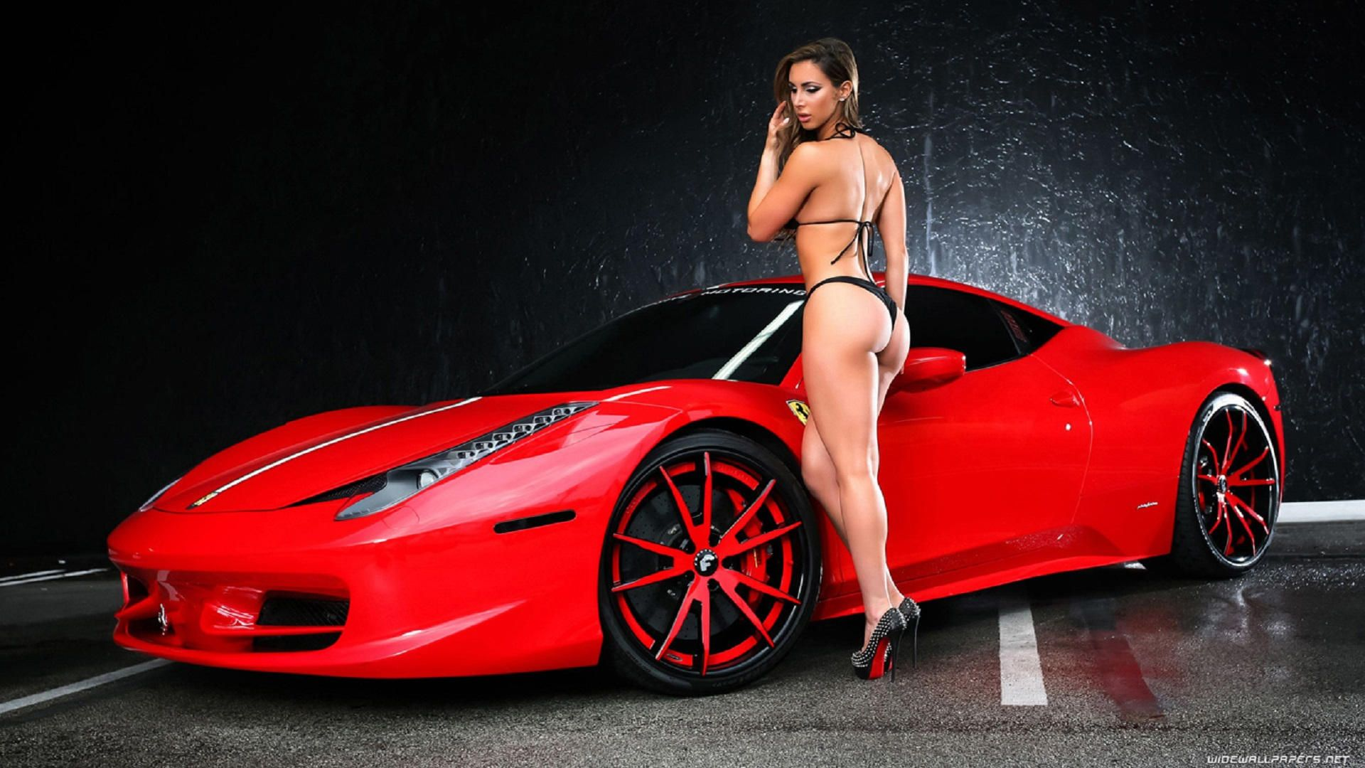 cool car ferrari and best girl hot cars car wallpapers hd high - Super Cool Cars With Girls