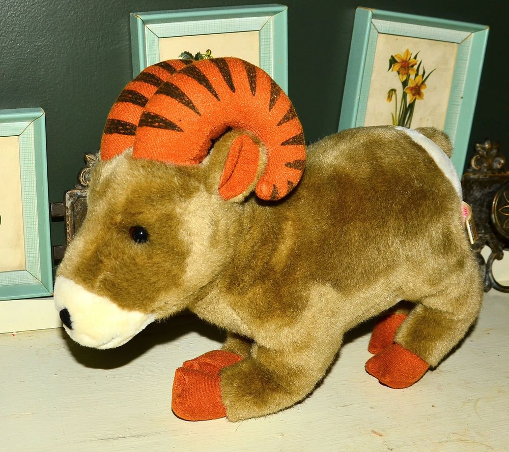 Large Plush Ram Stuffed Animal Toy Sugar Loaf Sugarloaf Pet Toys Animals For Kids Animals [ 889 x 1000 Pixel ]