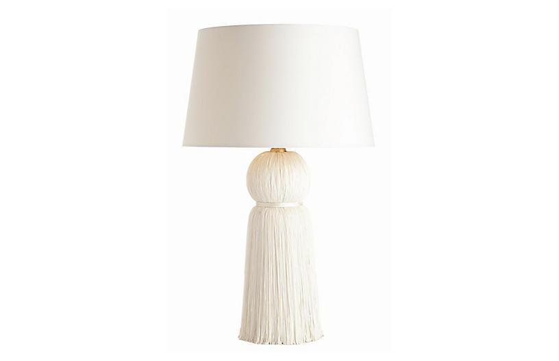 Tassel Table Lamp Ivory Arteriors in 2020   Table lamp