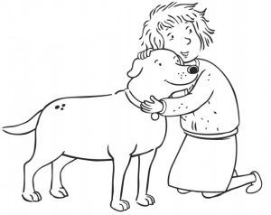 Martha Speaks Coloring Page Scooby and Martha Pinterest Movie