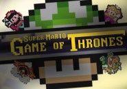 "A abertura de ""Game of Thrones"" no estilo Super Mario World"
