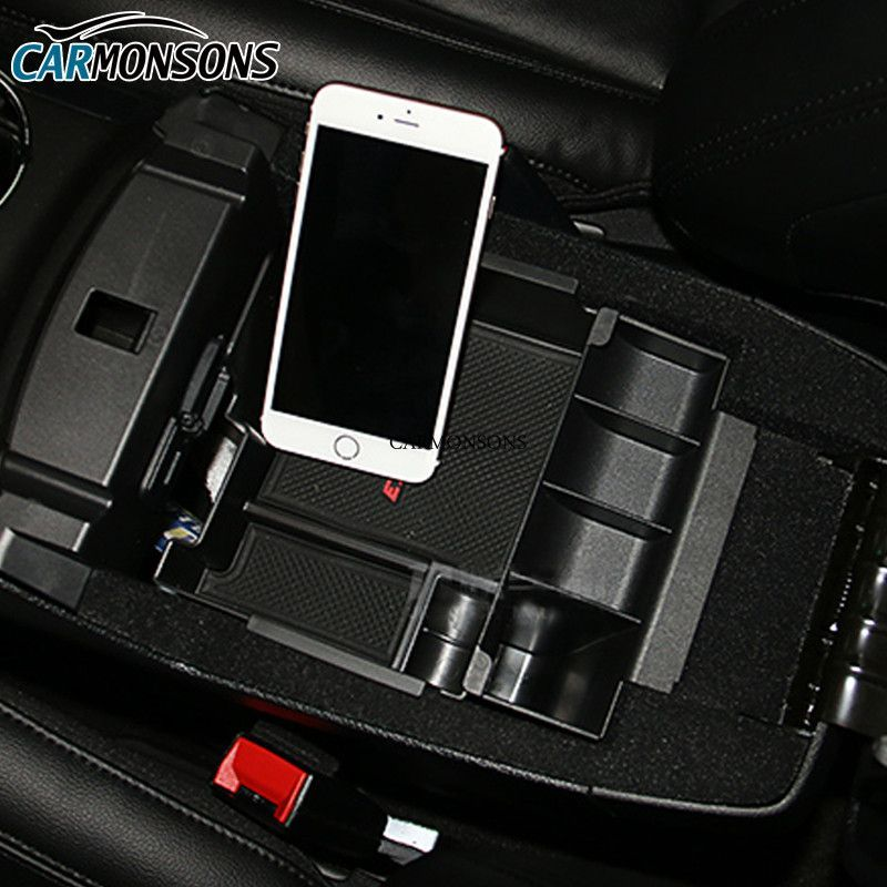 Carmonsons For Ford Explorer 2011 2017 Central Armrest Storage Box
