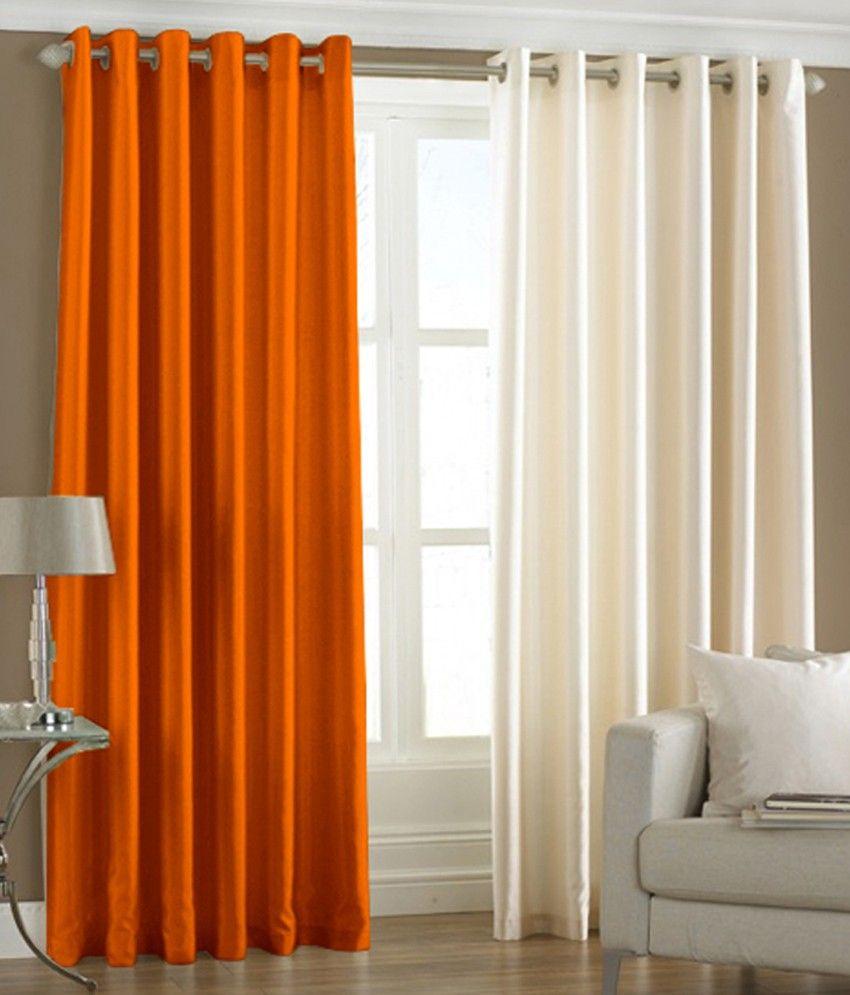 PINDIA Set of Door Eyelet Curtains Buy Online at Low Price ...