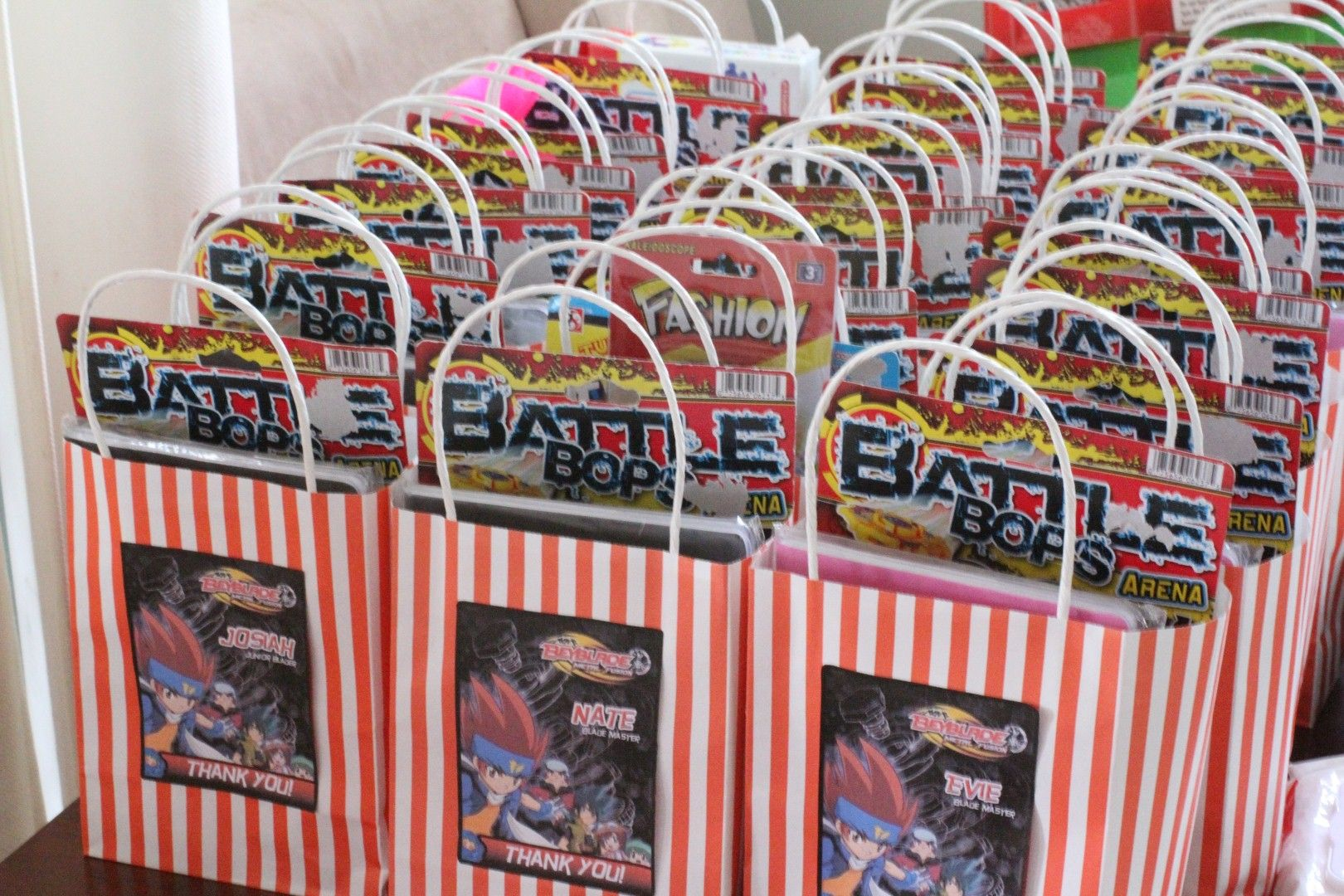 Beyblade Party Favors Beyblade Party Ideas Pinterest