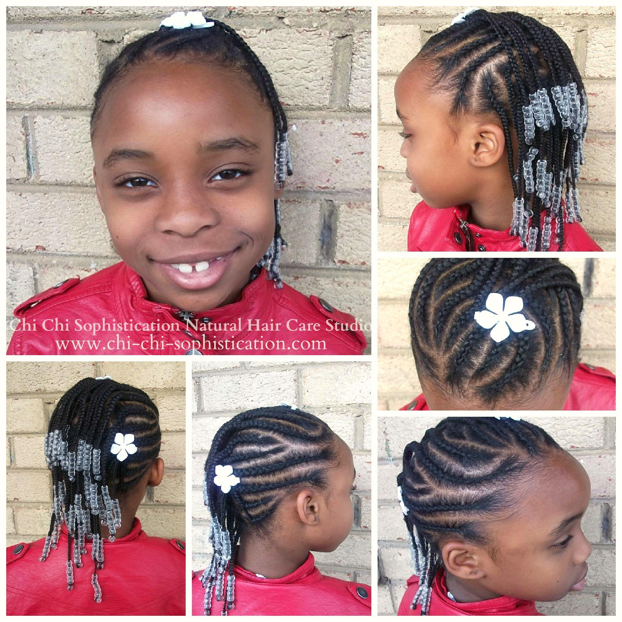 Cornrows u beads for kids ichisophistication maddieus