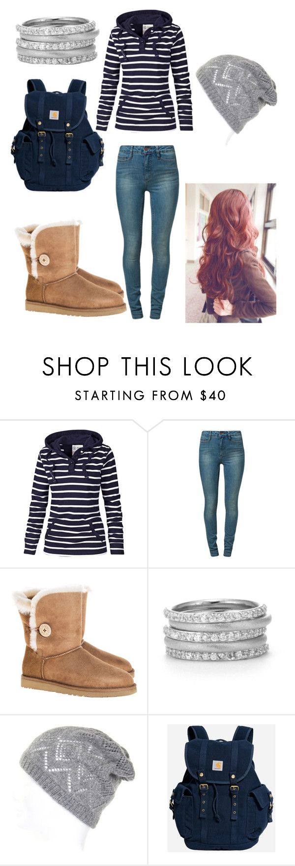"""""""I love you so much LiviBoo! ~missy"""" by oknme ❤ liked on Polyvore featuring Fat Face, Vero Moda, UGG Australia and Carhartt"""