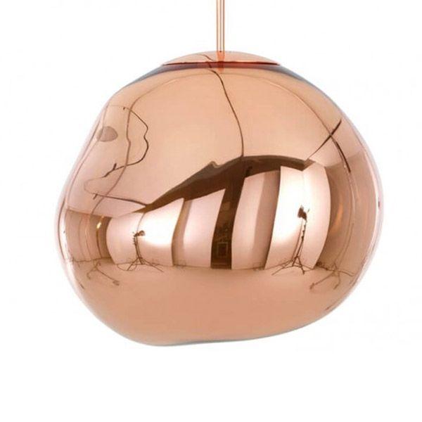 Tom Dixon Melt Pendant Copper Copper Pendant Lights Tom Dixon Copper Lighting