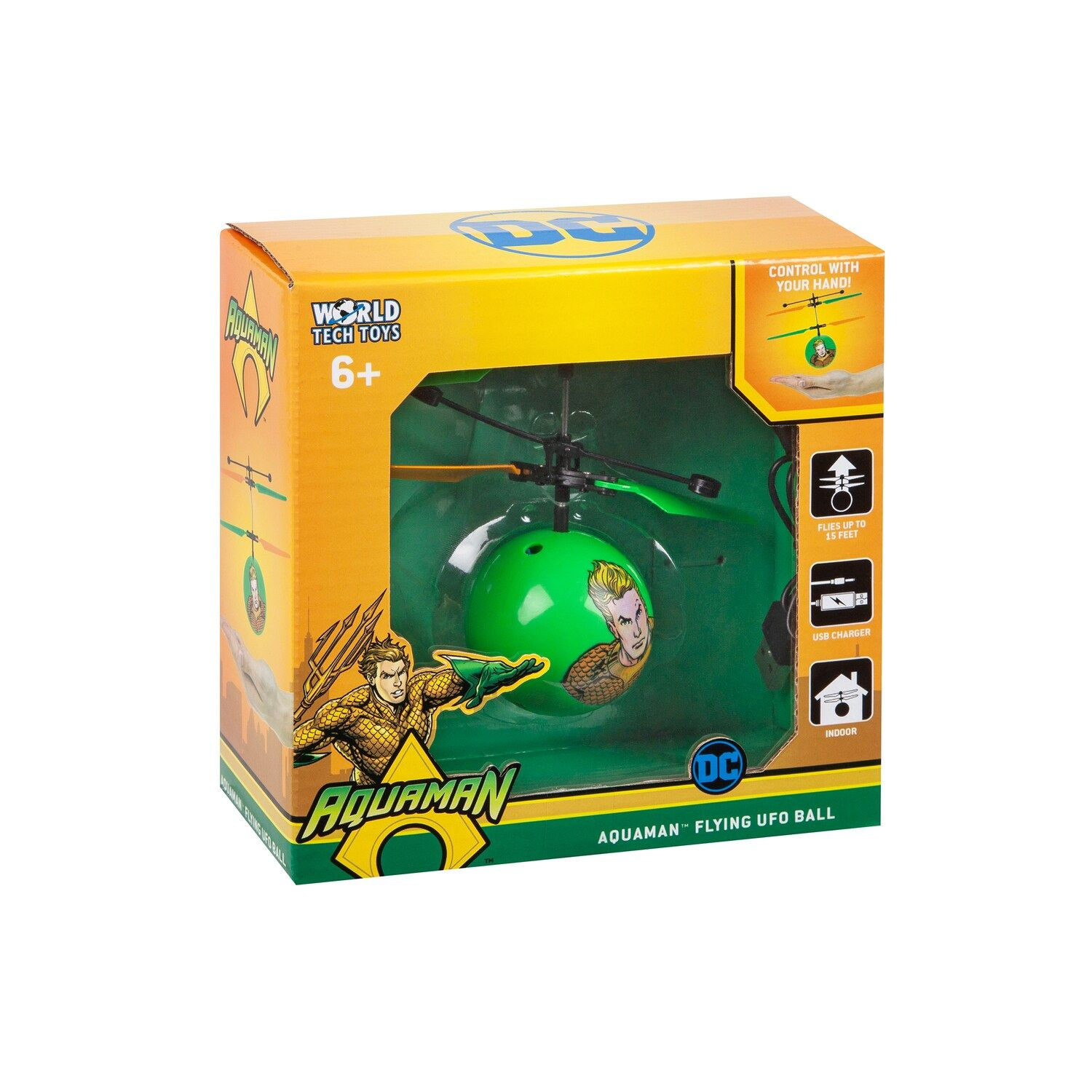 World Tech Toys AquaMan Heli-Ball #techtoys