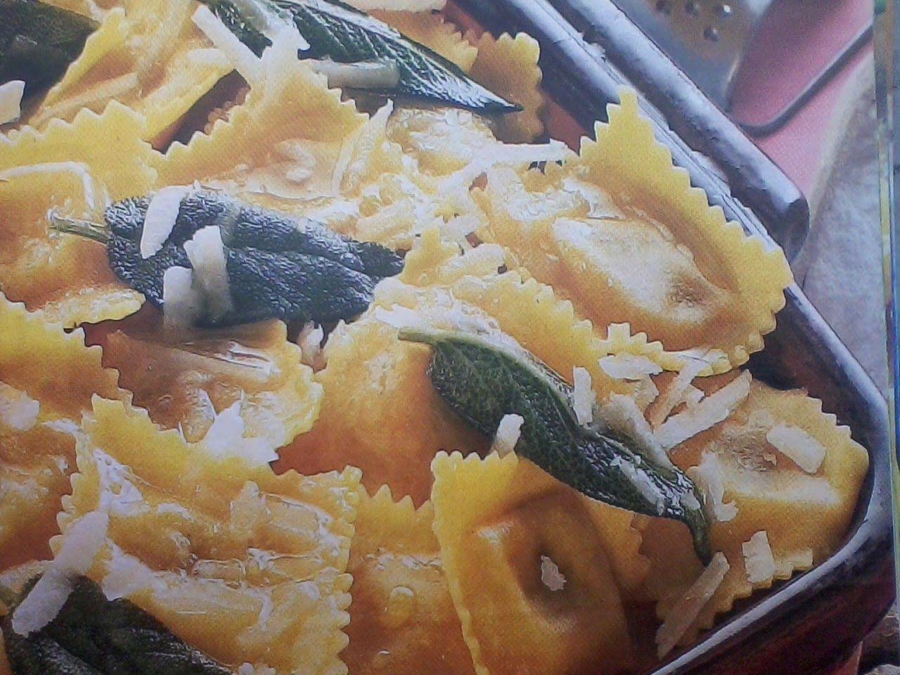 Ricette di cucina facili: Tortelli di zucca