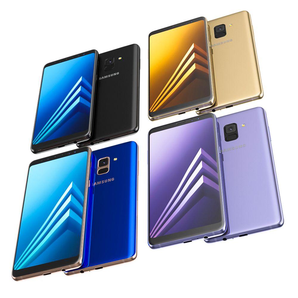 Samsung Galaxy A8 Plus All Colors Samsung Galaxy Galaxy Samsung