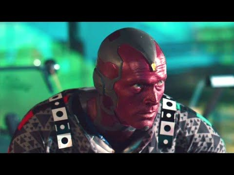 AVENGERS: AGE OF ULTRON Deleted Scene - Fighting Vision (2015) Marvel Superhero Movie HD - YouTube