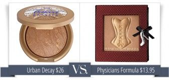 Urban Decay Gilded Has a Twin: Physicians Formula Sexy Booster Bronzer for Just $13.95