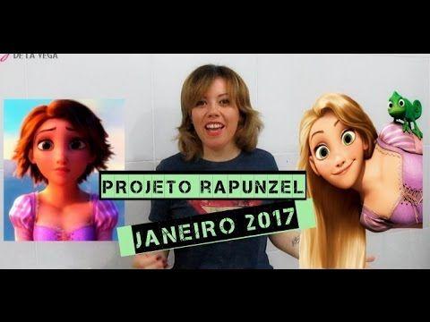 Projeto Rapunzel Janeiro Como cuidei do meu cabelo